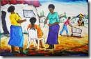 Jamaica ladies painting