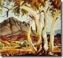 Gum trees by Albert Namijira, Australia