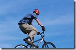 Teen on bike alcoholism