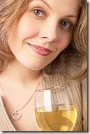 Binge drinking woman