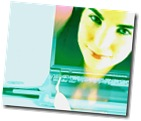 Digital image of woman s face on laptop screen uid 1278928