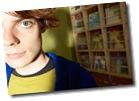 Teenaged boy in blue jacket uid 1181059