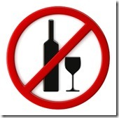 Alcohol not allowed